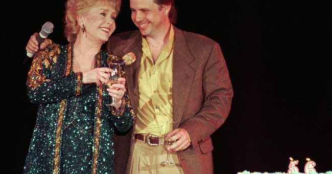 Debbie Reynolds' son says she prepared him for her death