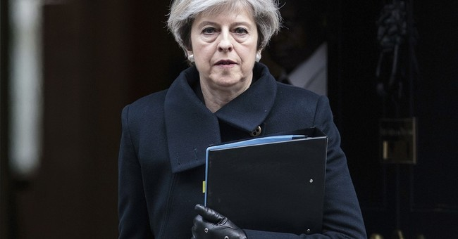 New video shows delay removing Theresa May from attack scene