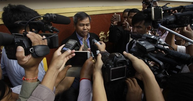 Accused killer of Cambodian political pundit found guilty