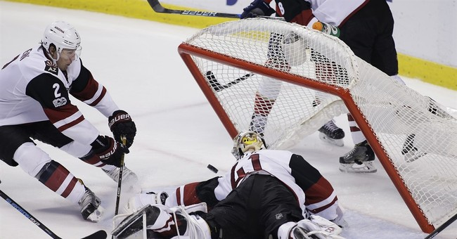 Marchessault scores twice in Panthers' 3-1 win over Coyotes