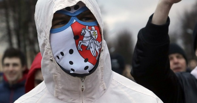 A new face in Belarus' anti-government protests: The poor