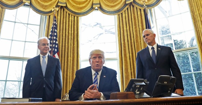 AP FACT CHECK: Trump overlooks his Obamacare promise