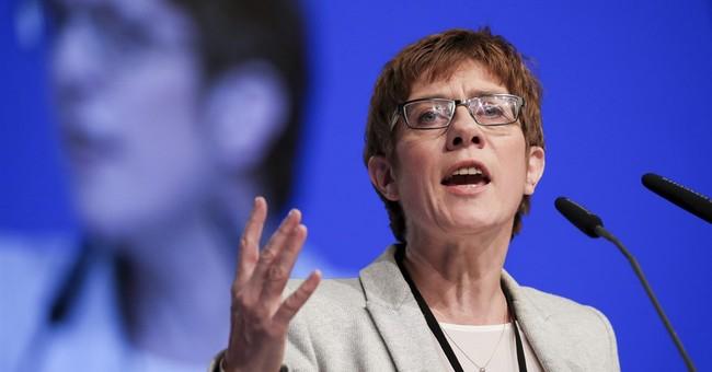 German state vote 1st test for Merkel's euphoric rivals