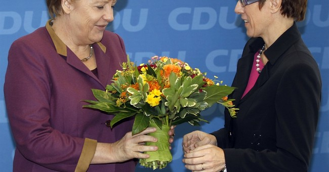 German state vote 1st test for Merkel's euphoric rivals