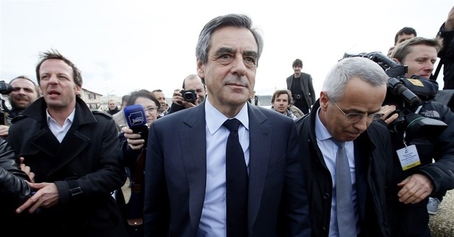 French president denounces rival's claims of dirty tricks
