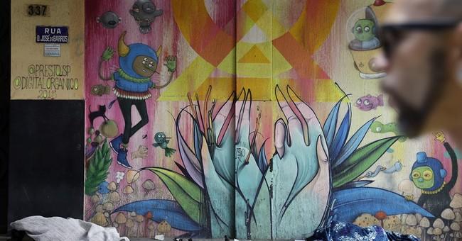 Sao Paulo street art debate over what makes cities livable