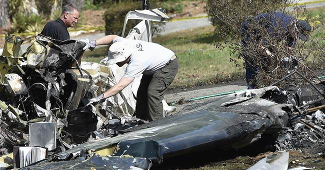 Police identify pilot killed in fiery plane crash in Georgia