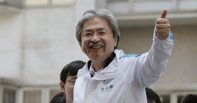 Hong Kong leader's race pits Beijing's pick vs 'Uncle Chips'