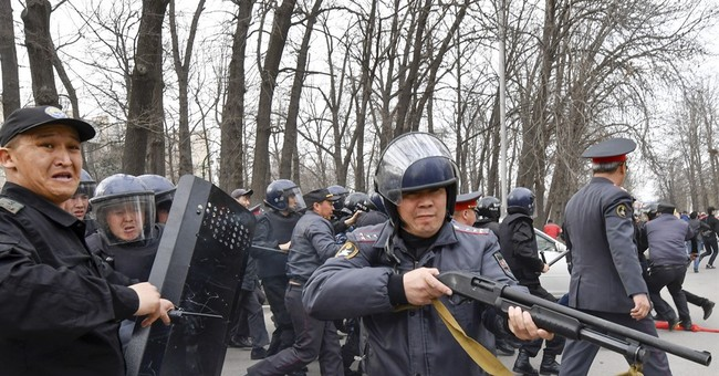 Dozens arrested in Kyrgyzstan protest over jailed dissident