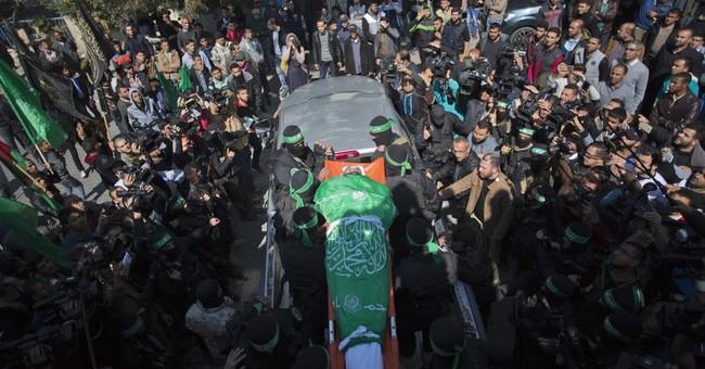 Hamas vows revenge at slain militant's funeral in Gaza