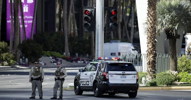 Vegas Strip reopens after gunman surrender, fatal shooting