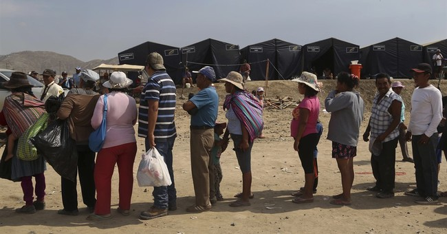 Mudslide buries Peruvian village, leaving little to claim