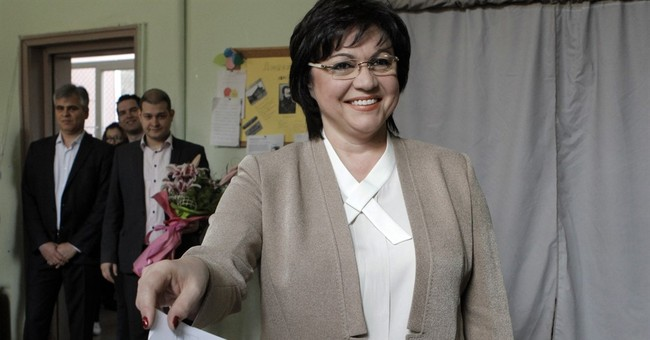 The Latest: Bulgaria's Socialist leader concedes election