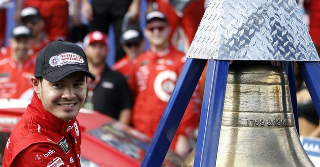 Second to none: Kyle Larson hangs on to win at Fontana