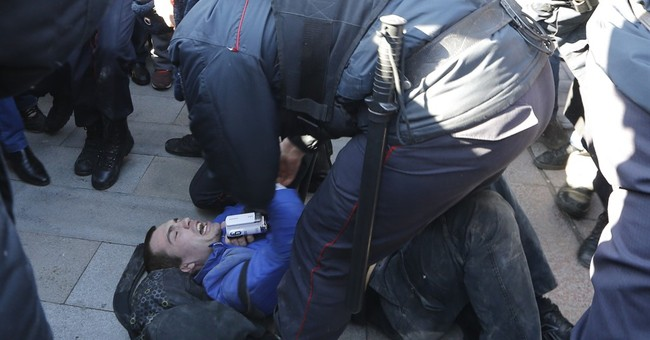 Nationwide protests bring thousands to Russia's streets