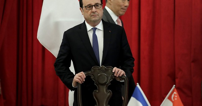 Hollande: Europe can beat protectionism by working with Asia