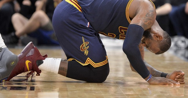 Basket-bawl: LeBron featured as crying baby in new TV ad