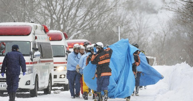 8 students presumed dead in Japan avalanche