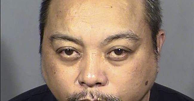 Police review transit bus video from Las Vegas shooting