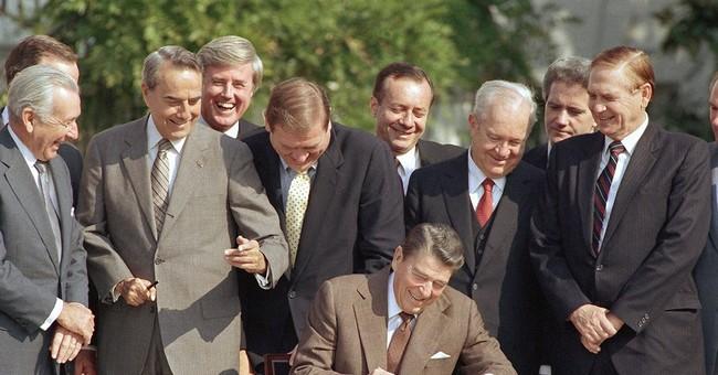 Tax overhaul effort lacks advantages Reagan enjoyed in 1986