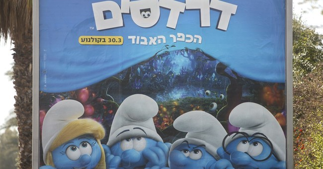 Smurfette is shunned in Israeli ultra-Orthodox city