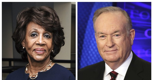O'Reilly apologizes for jest about Maxine Waters' hair