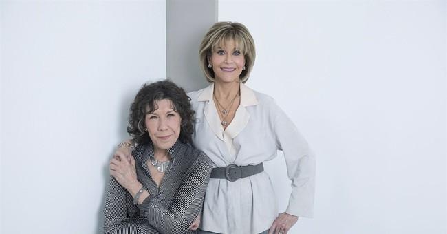 Fonda and Tomlin savor senioritis as 'Grace and Frankie'