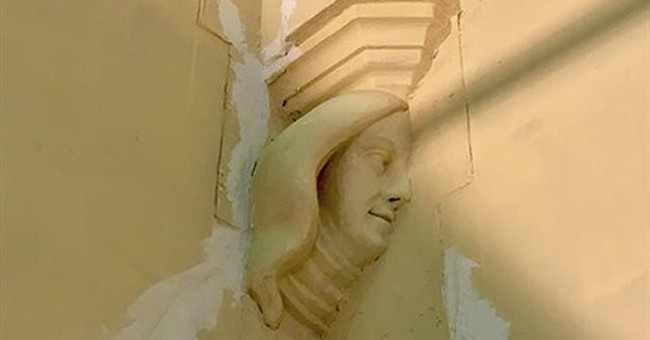 Mysterious carving found at church where John F. Kennedy wed