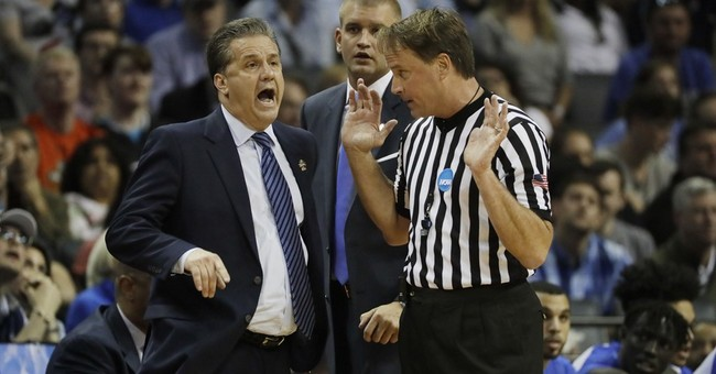 NCAA referee is target of death threats after Kentucky loss