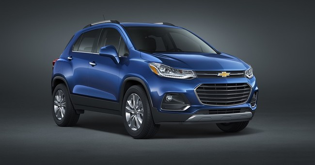 Chevy gives popular Trax SUV new styling, features for 2017