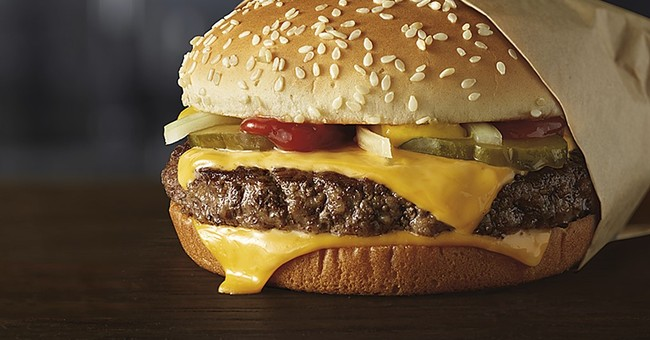 Something completely different at McDonald's: Fresh beef