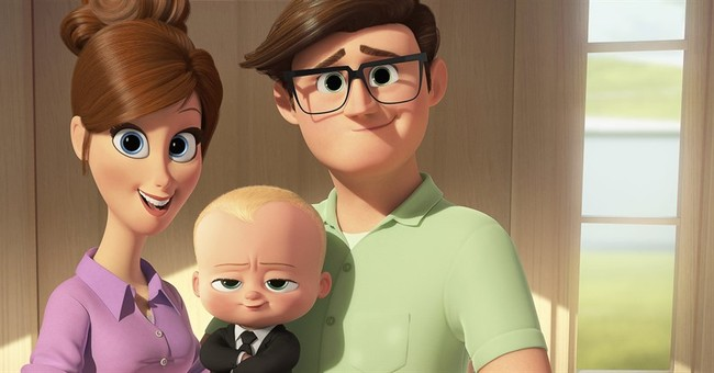 Review: In 'The Boss Baby,' it's clear who wears the diapers