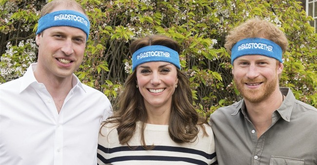 Britain's young royals promote conversation on mental health