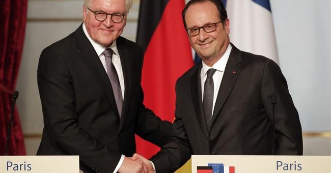 German president calls for stronger French-German leadership
