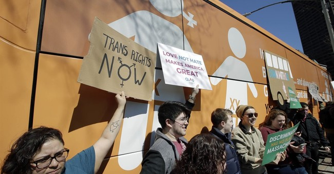 Anti-transgender bus sparks protests as it visits US cities