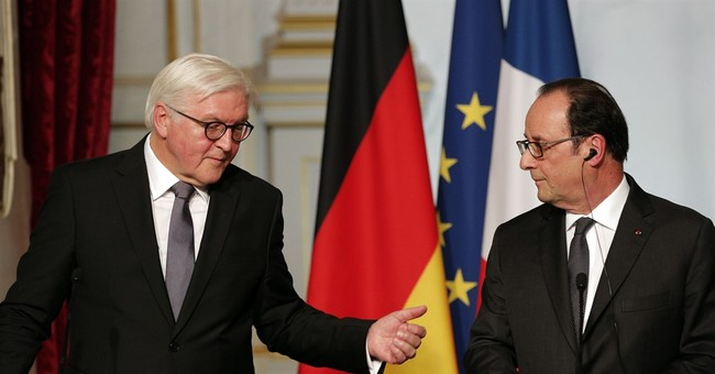 German president calls for stronger French-German leadership
