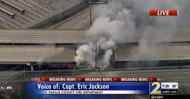 Correction: Overpass Collapse-Fire story