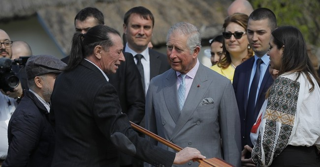 Prince Charles joins folk dance on European tour amid Brexit