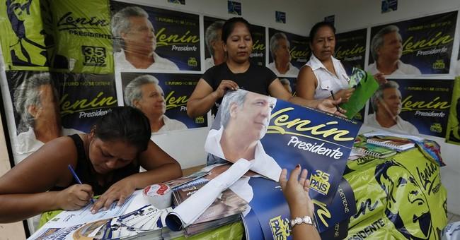 Leftist gains edge ahead of tense Ecuador presidential vote