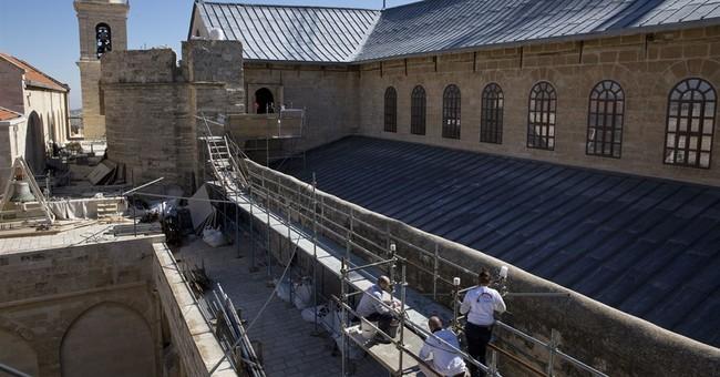 Italian firm restoring Nativity Church: Like touching heaven