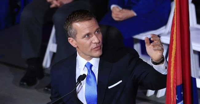 Greitens takes over as Missouri governor, targets lobbyists