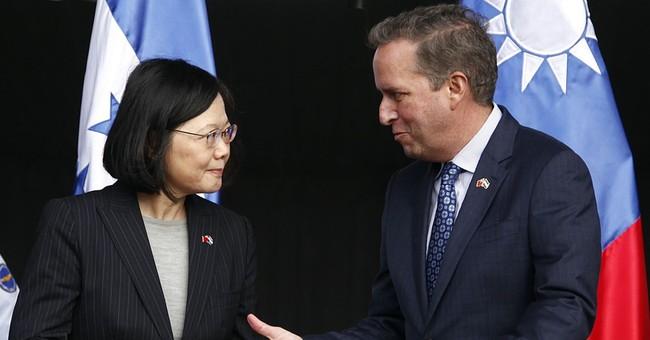 China warns after Cruz, Abbott meet Taiwan's president