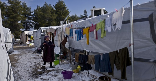 EU Commission: 'untenable' situation in Greek refugee camps