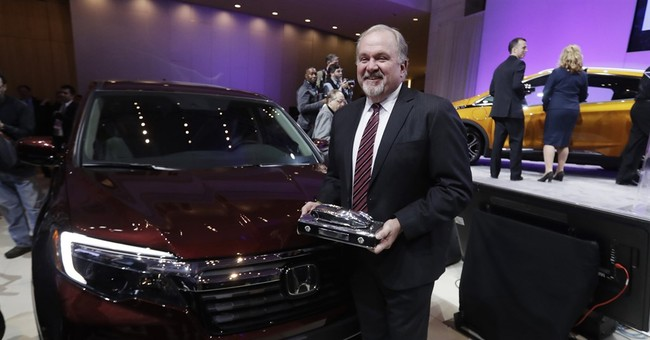 Chevy Bolt gets top car award; Pacifica top utility vehicle