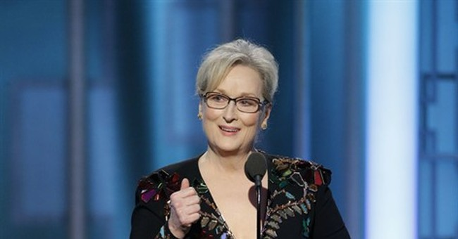 Overrated or not, Streep's speech has galvanizing effect