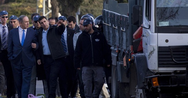 Israeli police arrest 9 following Palestinian truck attack