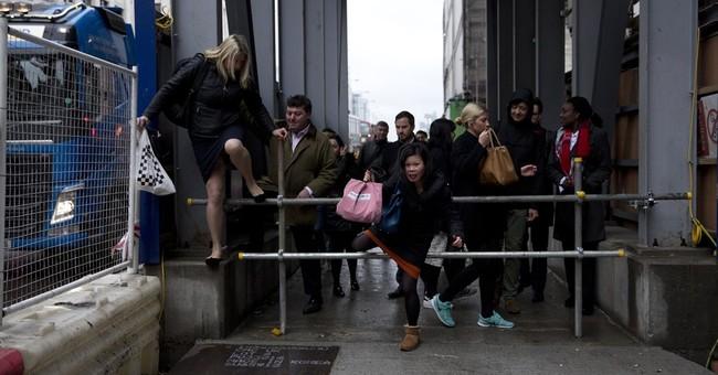 Stuck: London commuters face stress in subway strike