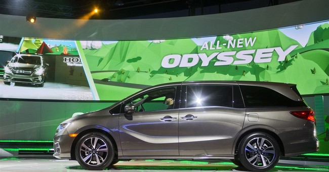 Honda goes higher-tech with Odyssey. Try the intercom.