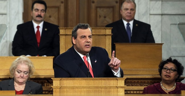 Christie emerges empty-handed, his ratings at home dismal