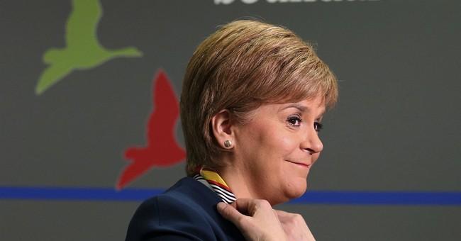 Scotland's Nicola Sturgeon formally requests referendum